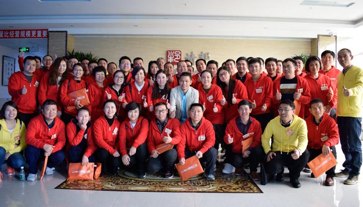阿里客户到靖邦学习参观企业文化4