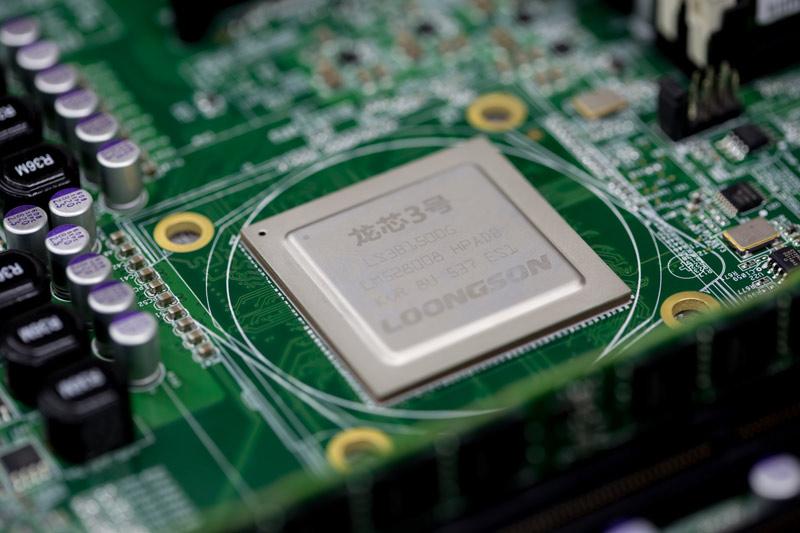 靖邦电子为百信-龙芯三号提供元器件和SMT贴片加工服务