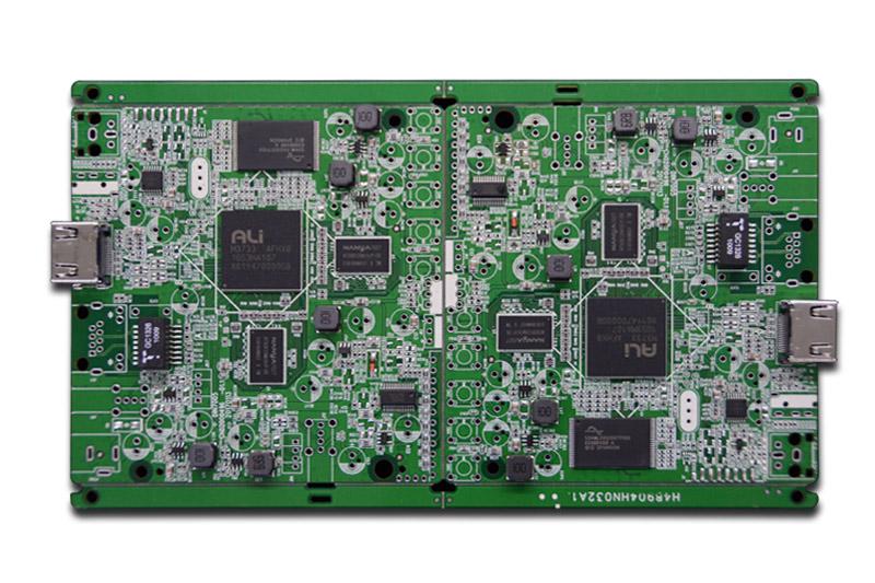 靖邦为佳明提供高端智能电子秤SMT贴片、烧录、测试