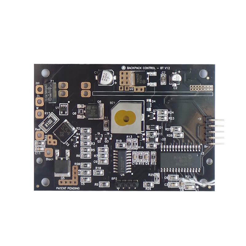 PCB印制电路板上着烙铁的方法