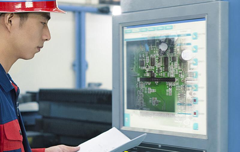 靖邦为通讯电子行业(智能无线通讯管理模块)客户提供PCBA一条龙服务