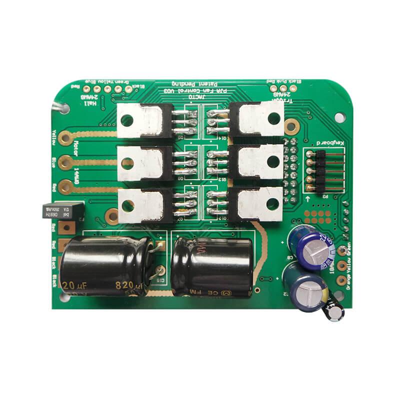 PCB生产中密脚器件桥连的问题