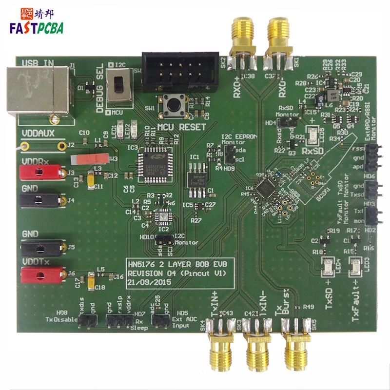军工高频PCBA加工板4