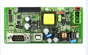 网络监控摄像机主板SMT