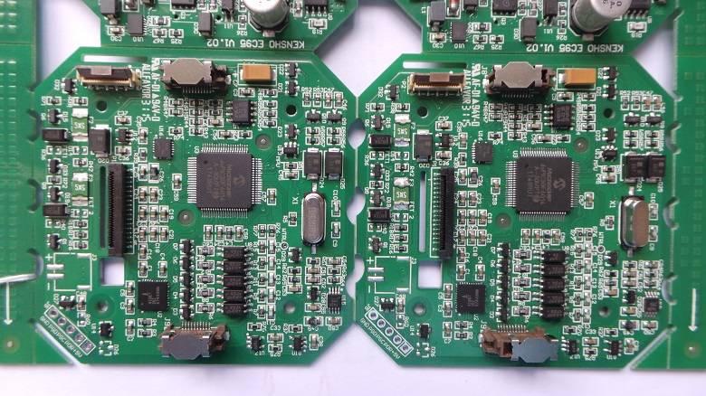 停车指示牌电源控制板PCBA加工